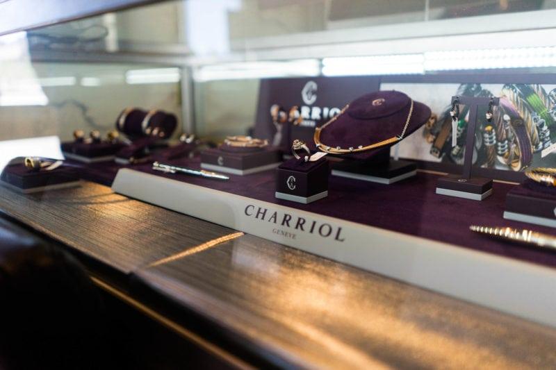 Gem Gallerie Display Charriol Jewellery