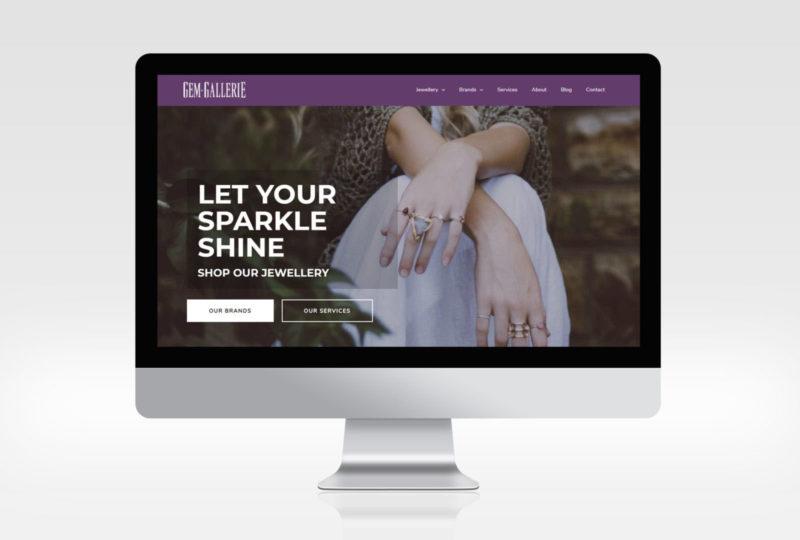 Gem Gallerie Website