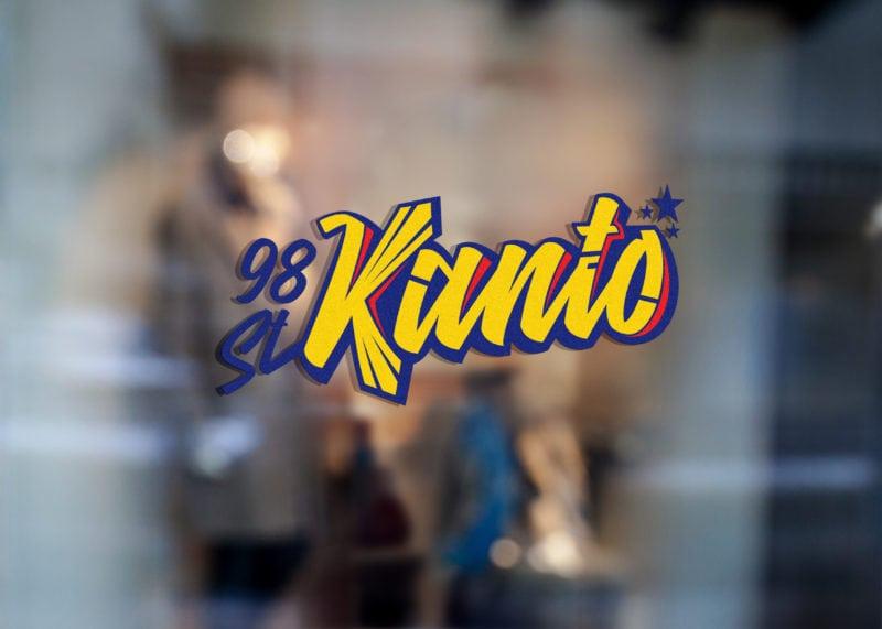 Kanto window decal - Logo Full