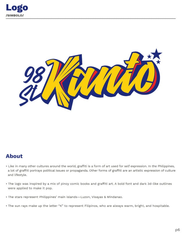 Kanto Style guide and brand identity