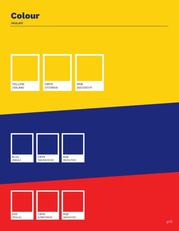 Kanto colour guide