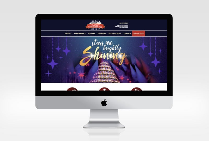 Singing Christmas Tree - Website