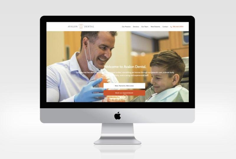 Avalon dental website