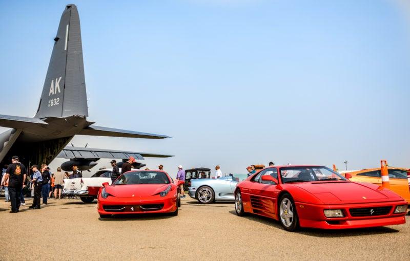 Edmonton Airshow Hercules, Ferrari