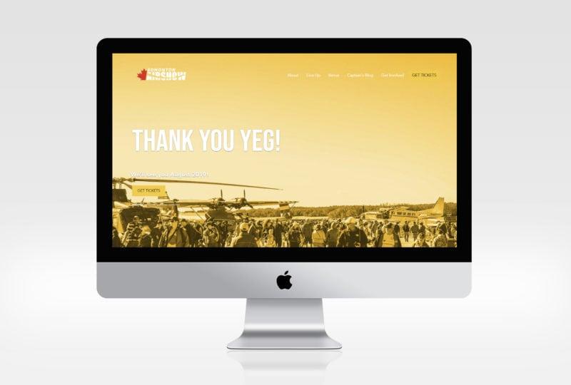 Edmonton Airshow Website 2018
