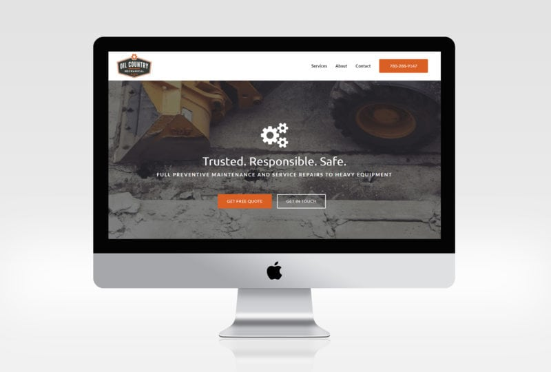 Oil Country Mechanical Website