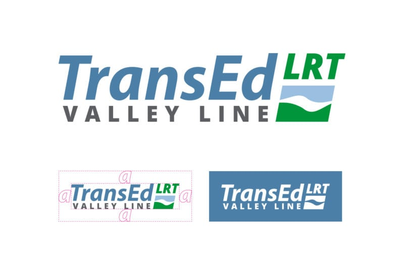 TransEd LRT Valley Line Logo