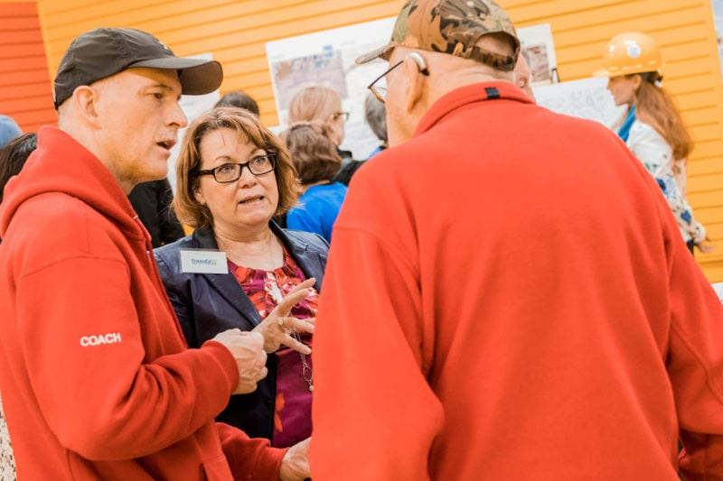 TransEd LRT Valley Line Sue Heuman Open House