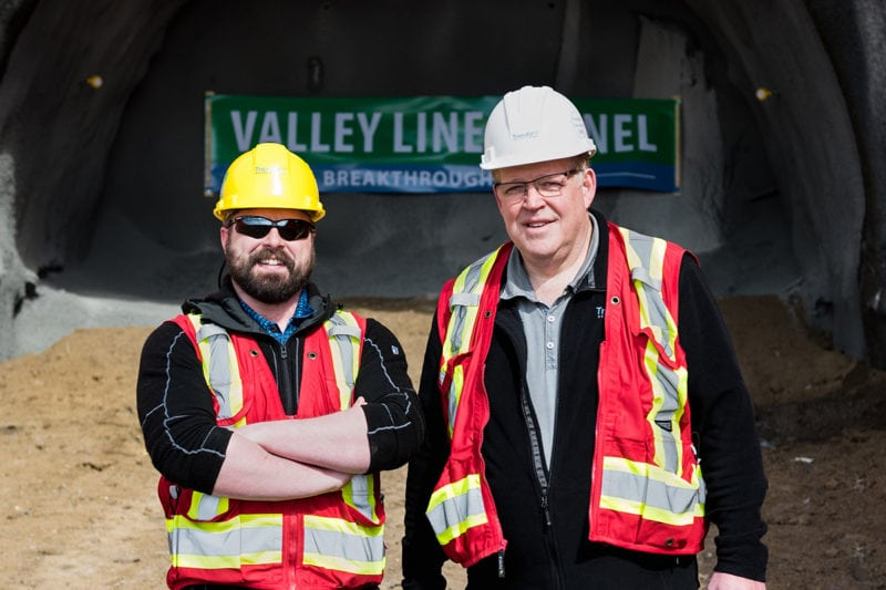 TransEd LRT Valley Line Tunnel
