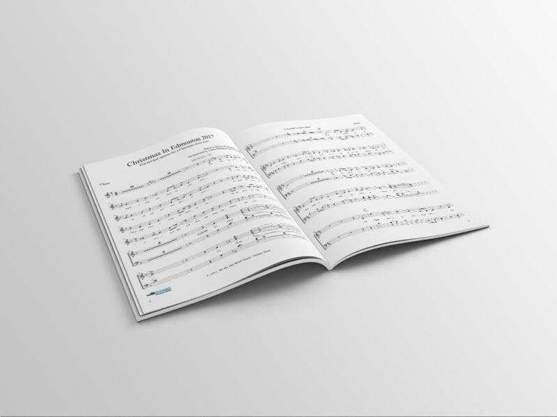 The Singing Christmas Tree Choir book