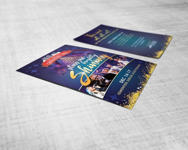 The Singing Christmas Tree Postcard