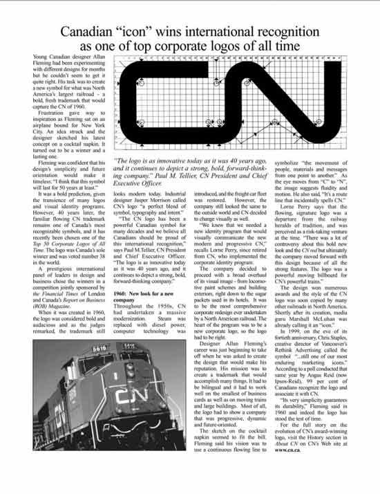 CN logo wins international recognition